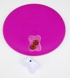 Nina Ottosson Dog Spinny plast Pink | rotierendes Hundespielzeug