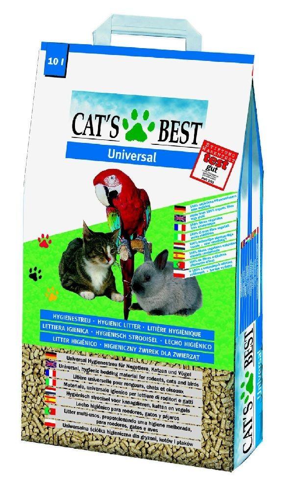 Cat´s Best Universal | 40l Bio Einstreu Pflanzenfaser
