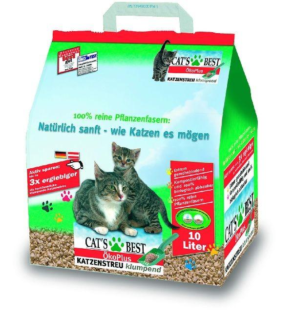 CAT´s BEST Öko Plus | 10ltr Katzenstreu