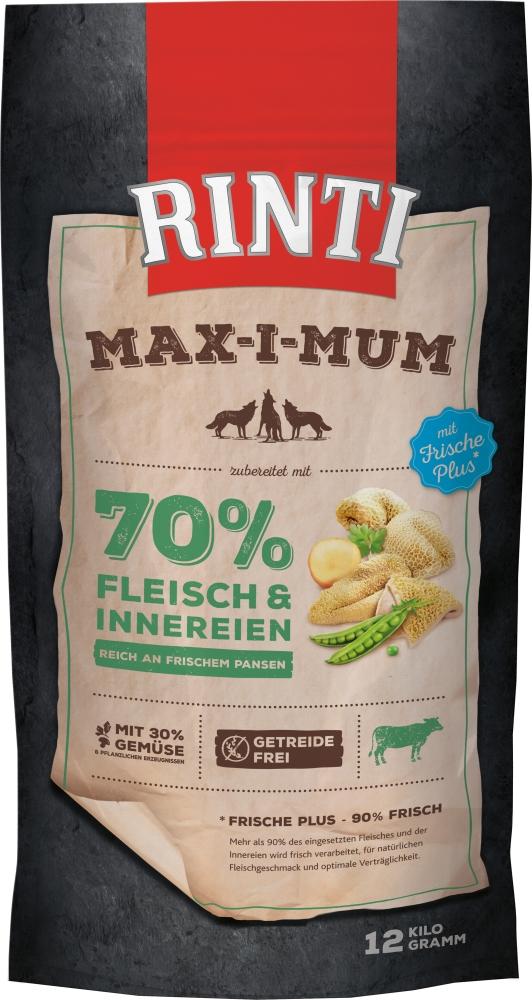 Rinti Max-i-mum Pansen | 12kg Hundetrockenfutter
