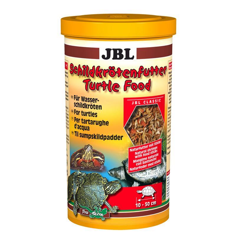 JBL Schildkrötenfutter | 250ml für Wasser- und Sumpfschildkröten