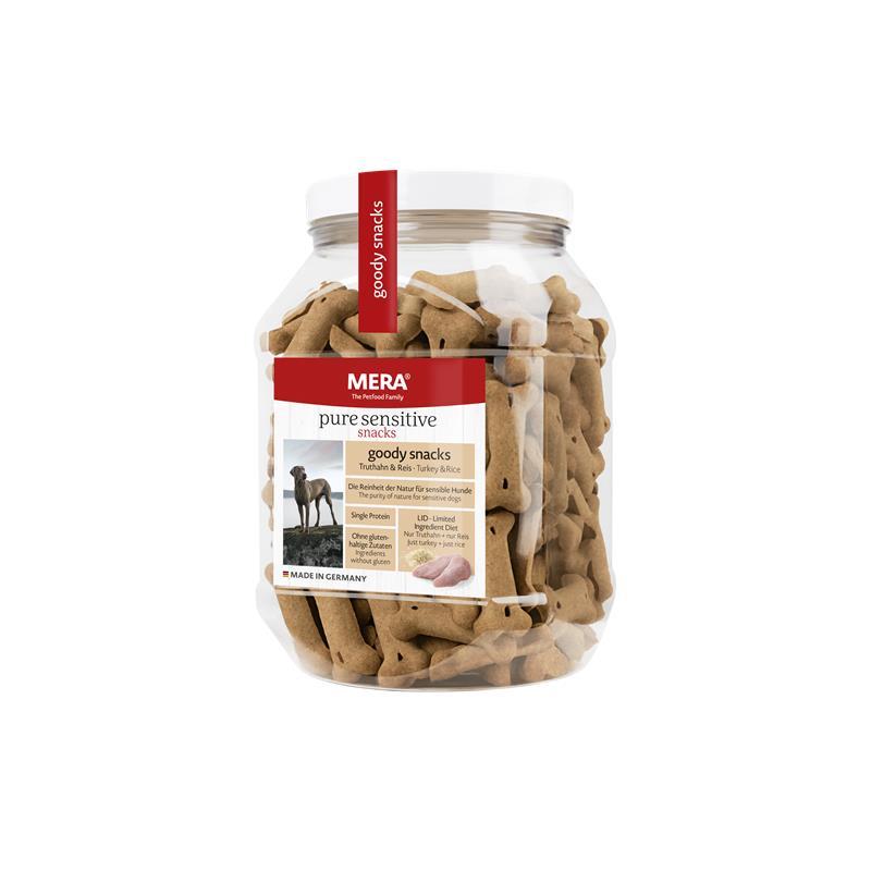 Mera Dog Pure Sensitive Goody Truthahn & Reis | 600g Hundesnack