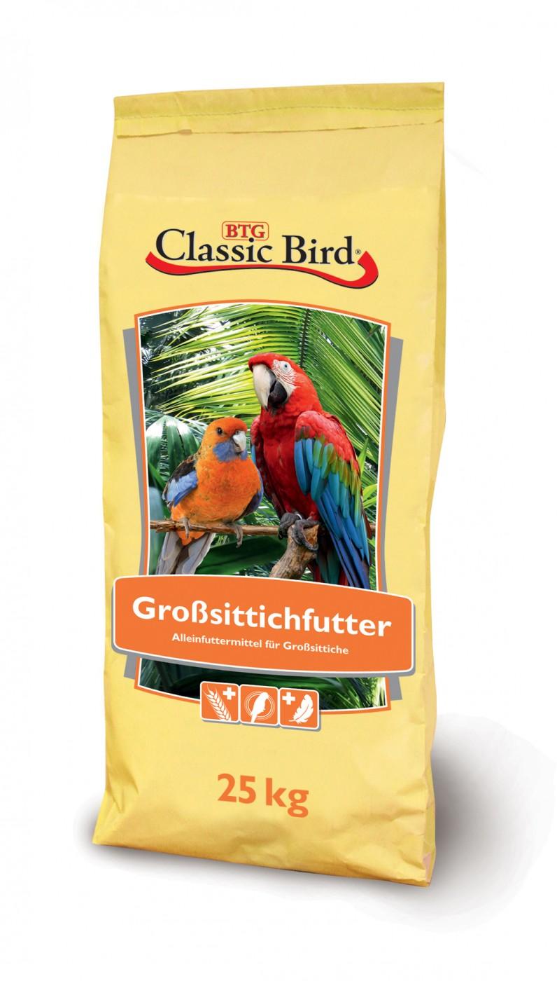 Classic Bird Großsittichfutter | 25kg mit Kardisaat