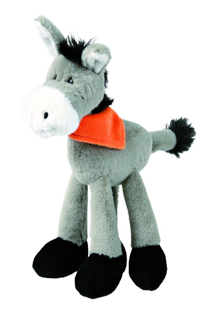 Trixie Esel aus Plüsch | 24cm groß Hundespielzeug