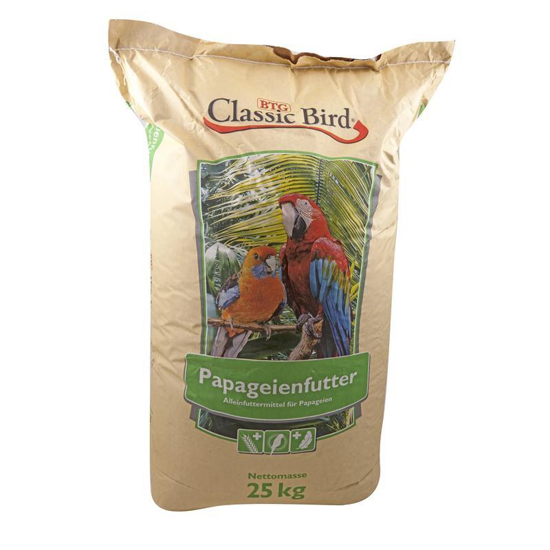 Classic Bird Papageienfutter | 25kg Züchtermischung
