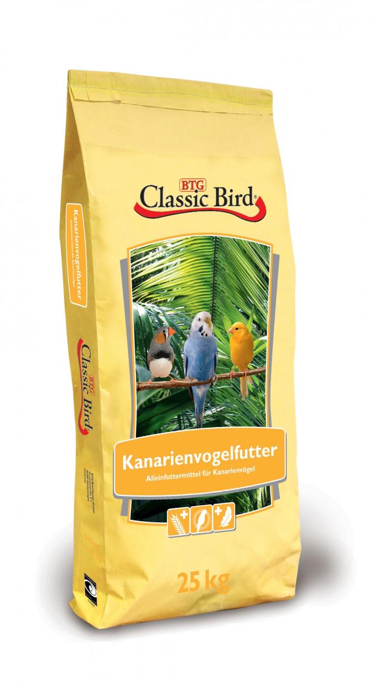 Classic Bird Kanarienvogelfutter | 25kg ohne Rübsen