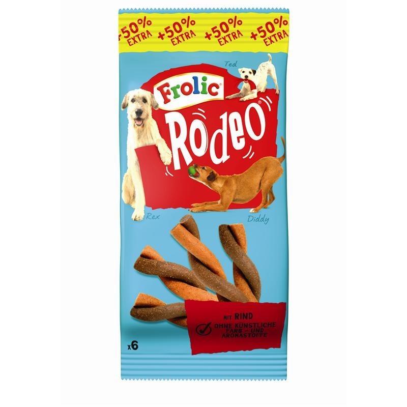 Frolic Snack Rodeo mit Rind | 18x6 Hundesnack