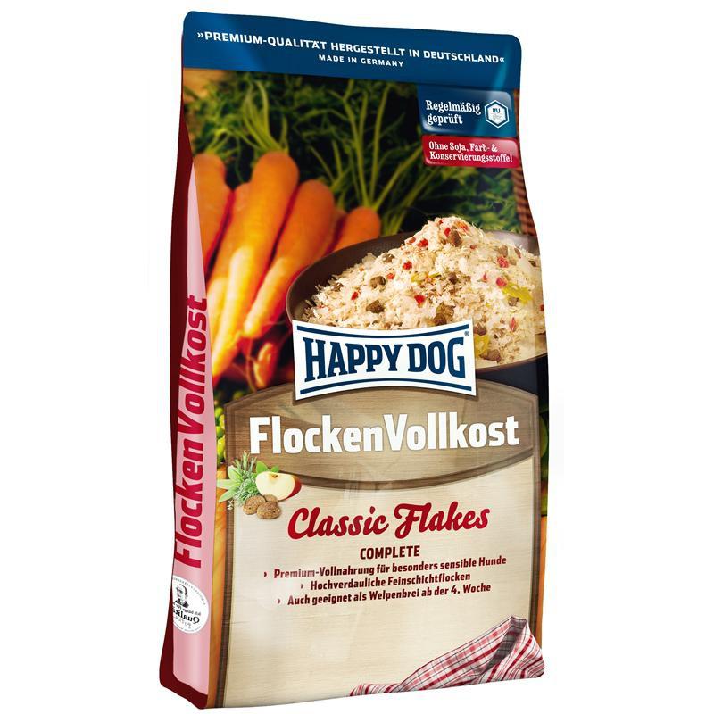 Happy Dog Flocken Vollkost | 10kg Hundefutter Vollkost