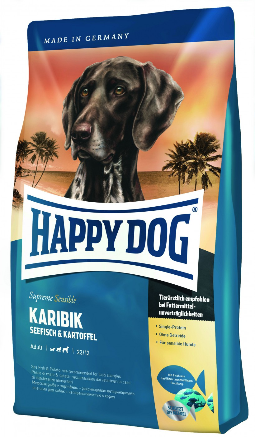 happy dog supreme karibik 4kg hundefutter. Black Bedroom Furniture Sets. Home Design Ideas