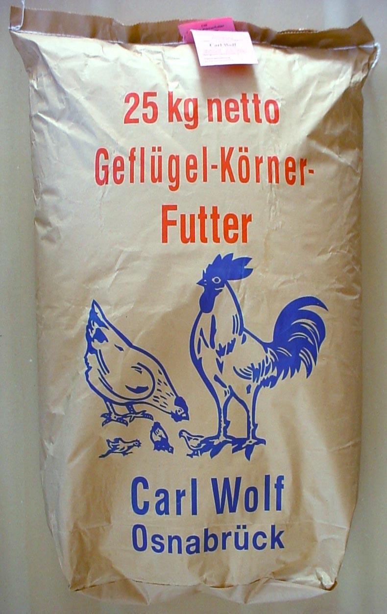 Geflügelkörnerfutter | 25kg Legehennenfutter