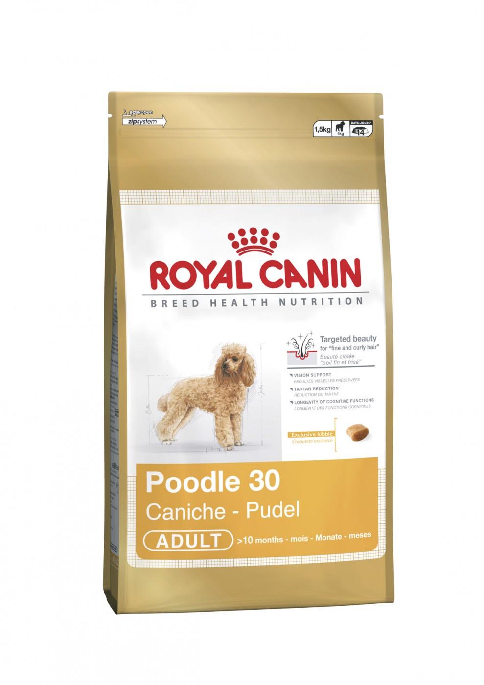 Royal Canin Breed Pudel   1,5kg Hundefutter Pudelfutter