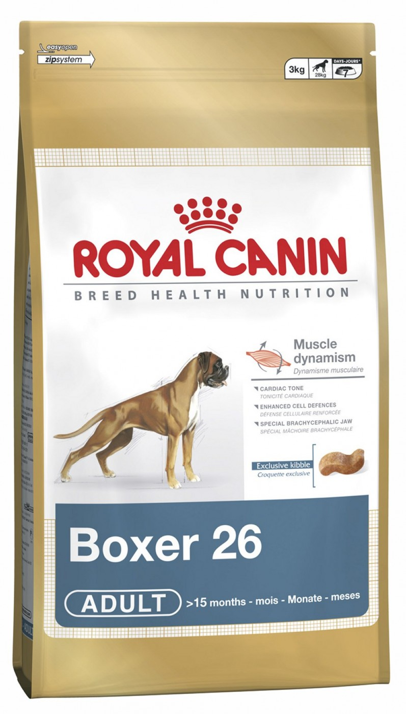 Royal Canin Breed Boxer | 3kg Hundefutter ab 15 Mon.
