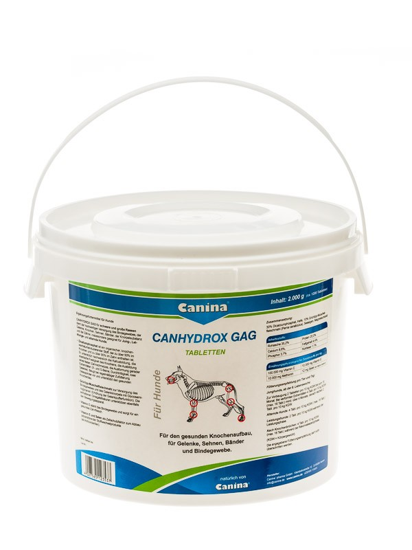 Canina Canhydrox GAG | 2000g Gelenkunterstützung für Hunde