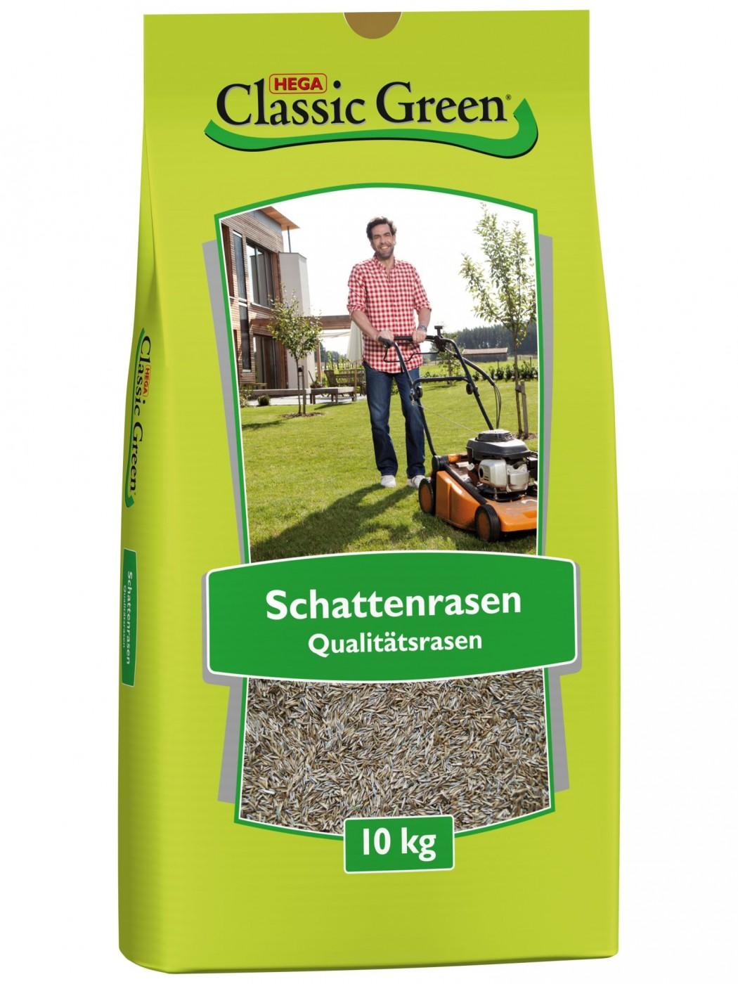 Classic Green Schattenrasen | 10kg Rasensaat