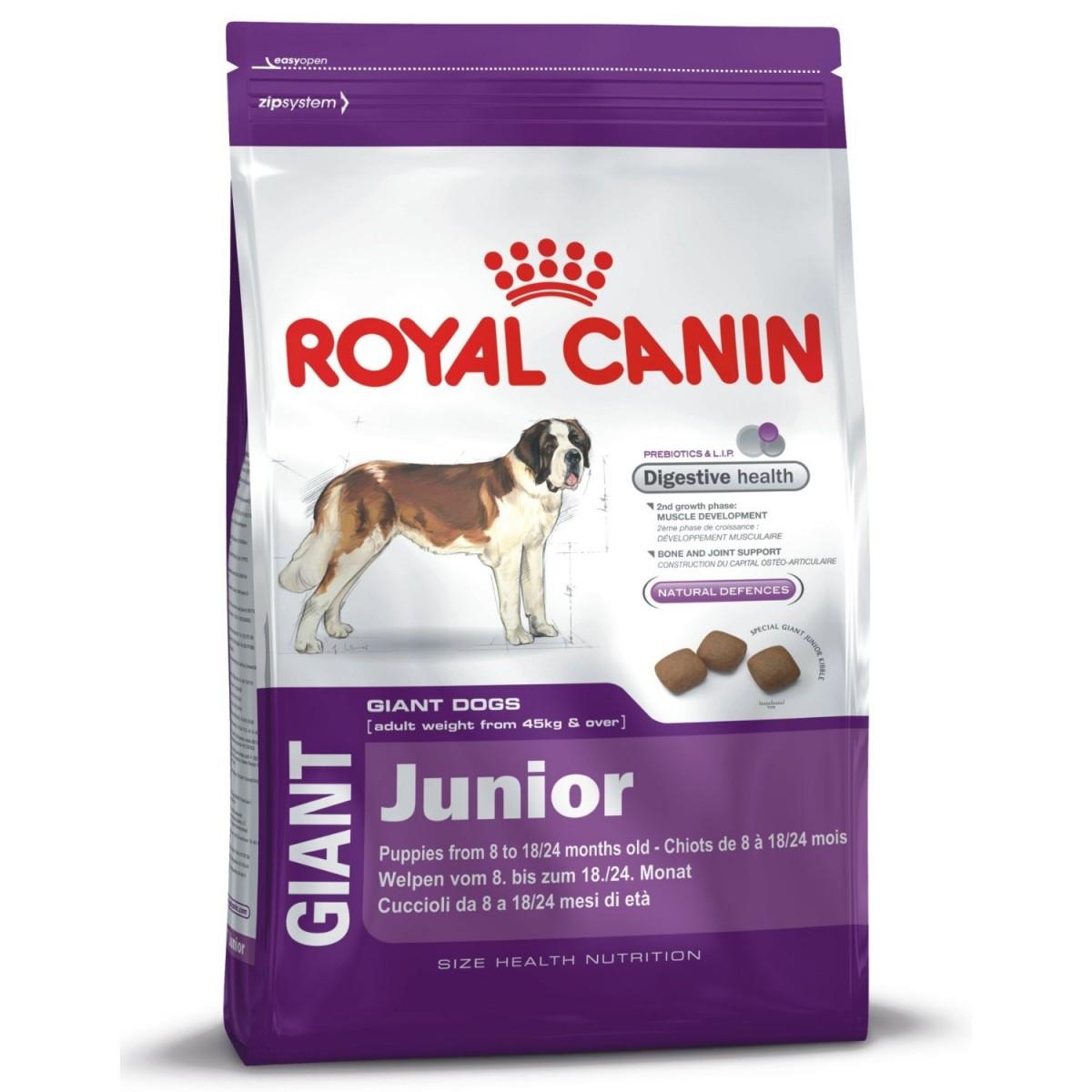Royal Canin Giant Junior | 4kg Junghundefutter Riesenrassen