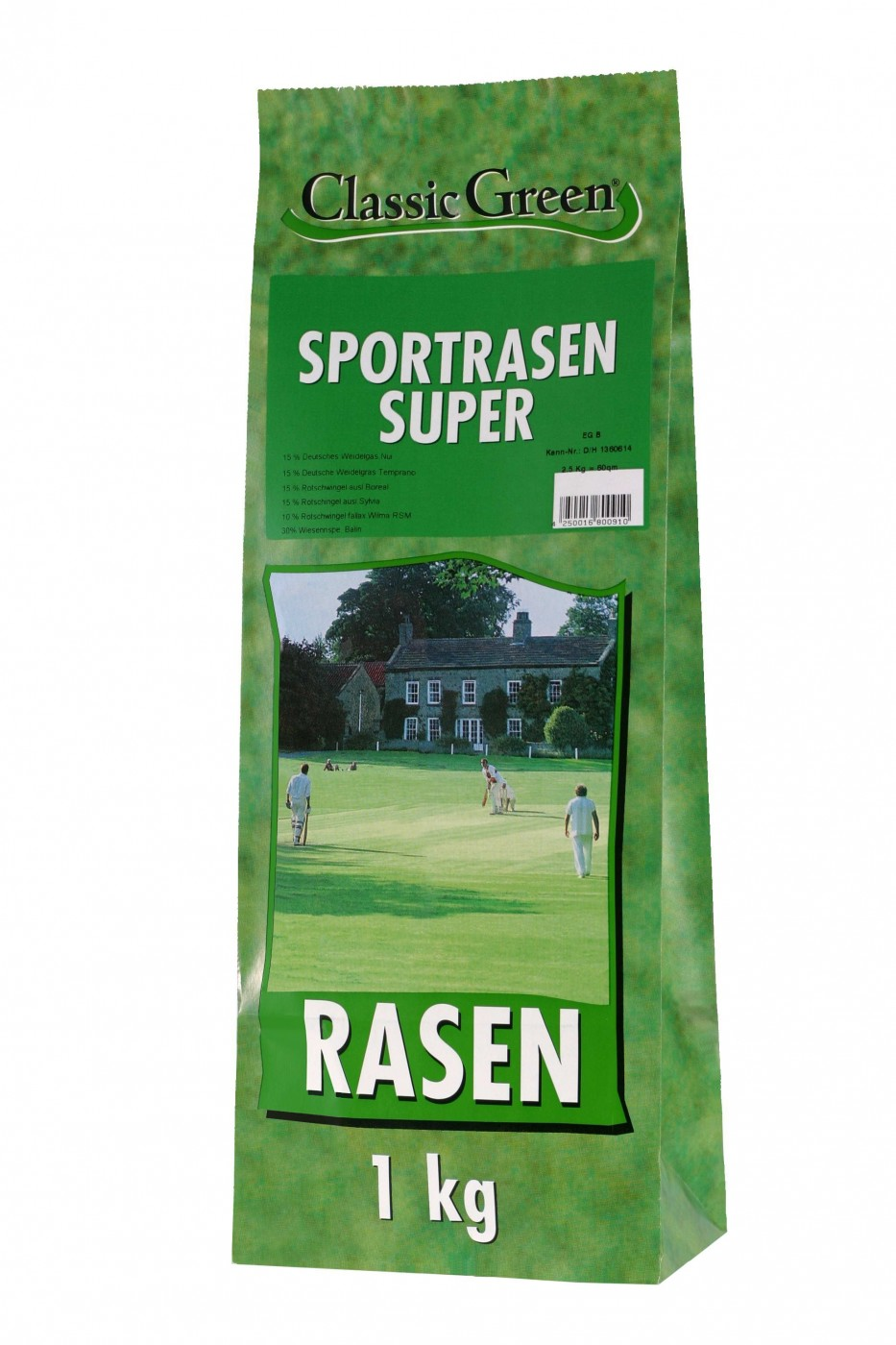 Classic Green Sportrasen | 10x 1kg Rasensaat