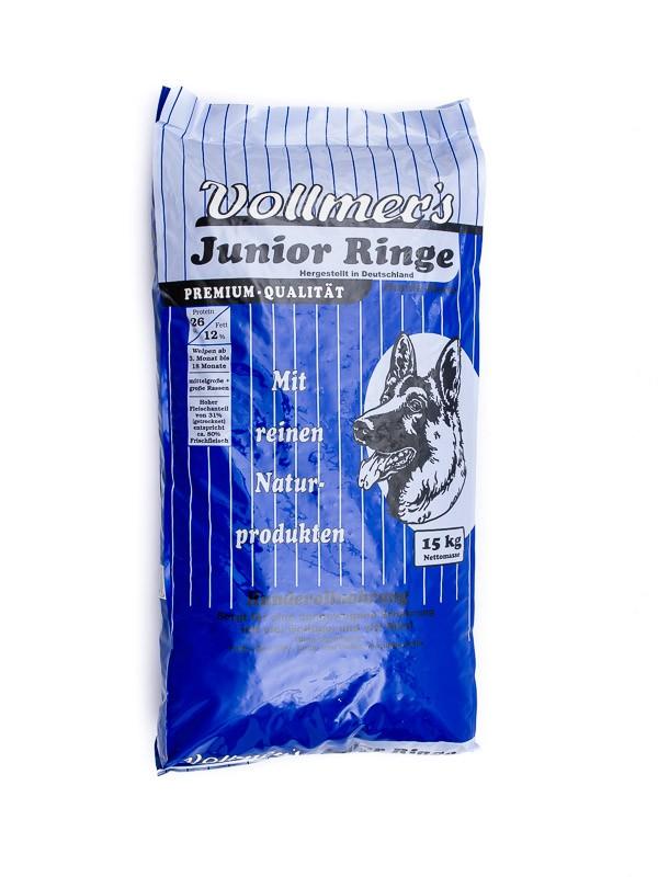 Vollmers Junior Ringe | 15kg Hundefutter Welpen