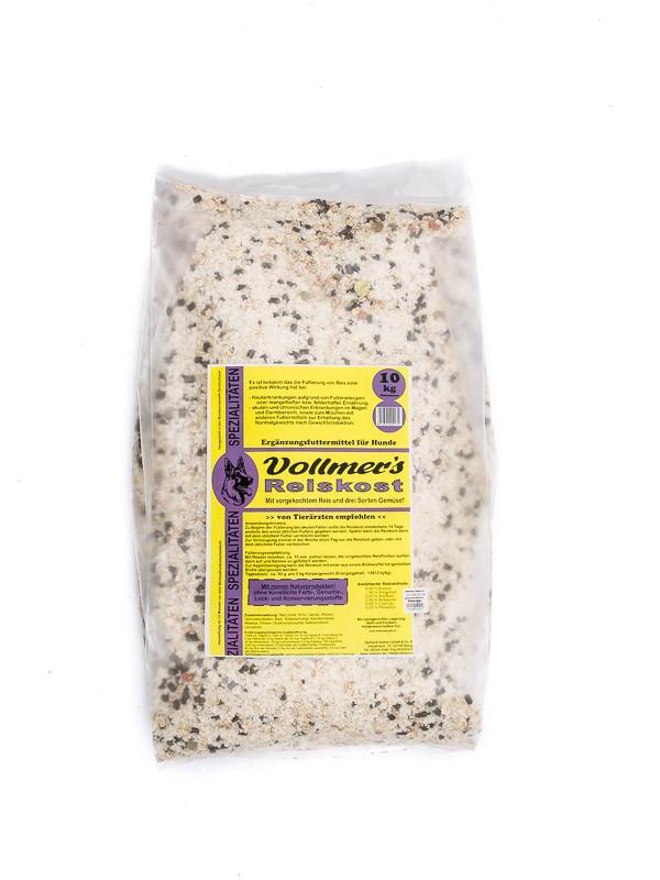 Vollmers Reiskost | 10kg Hundefutter trocken