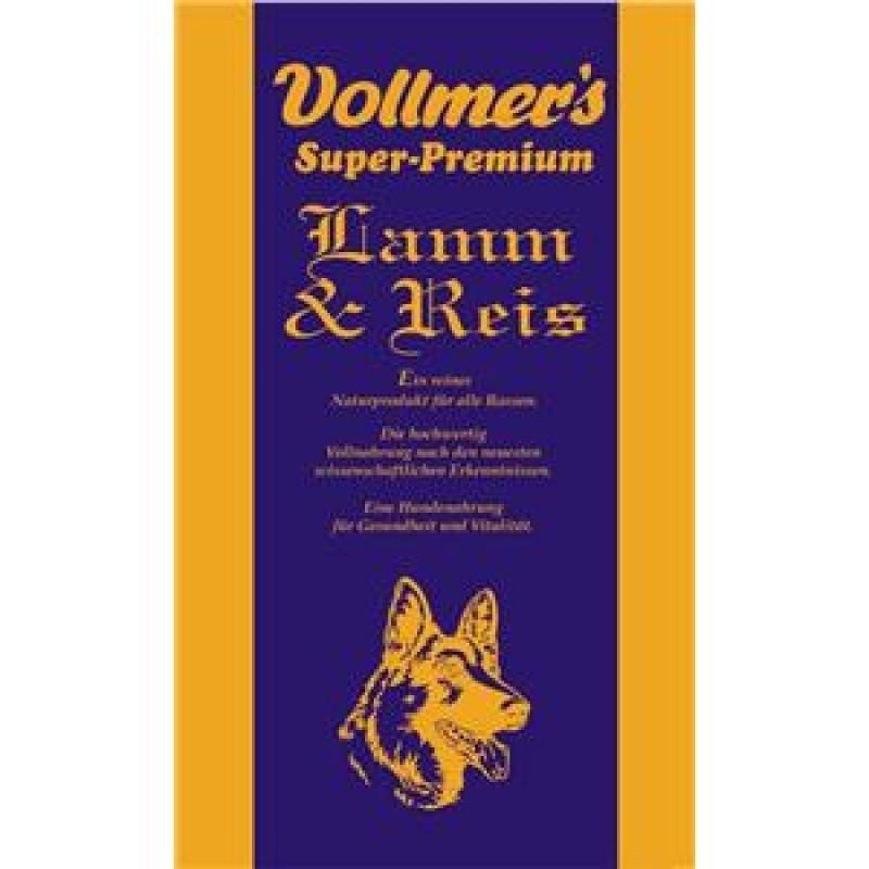 Vollmer's Lamm & Reis | 15kg Hundefutter trocken