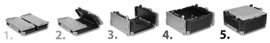 Flip-Box Premium - klappbare Isolierbox