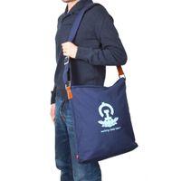 No.1 Large Bag, navy-blue, Lotus