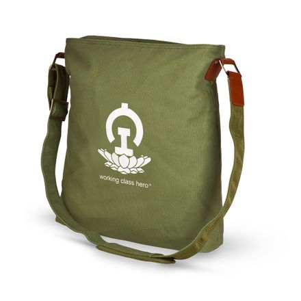 No.2 Large Bag, military-green, Lotus