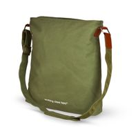 No.8 Large Bag, military-green, Letters