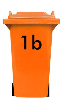 Bin Number Sticker, Futura – Bild 4