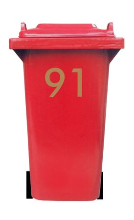 Bin Number Sticker, Futura – Bild 11