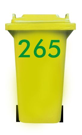 Bin Number Sticker, Futura – Bild 10