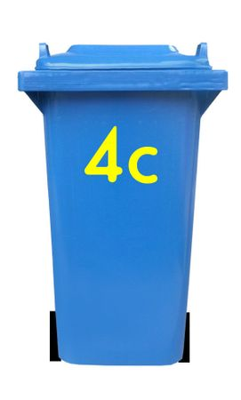 Bin Number Sticker 'Station' – Bild 11