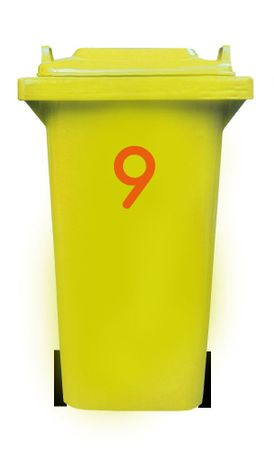 Bin Number Sticker 'Station' – Bild 13