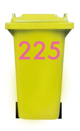 Bin Number Sticker 'Station' – Bild 14