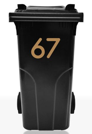 Bin Number Sticker 'Station' – Bild 7