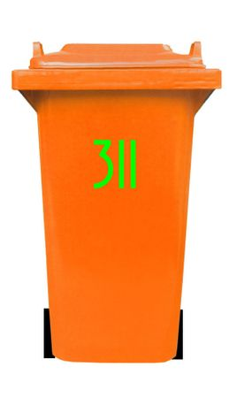 Bin Number Sticker 'Avenida' – Bild 2