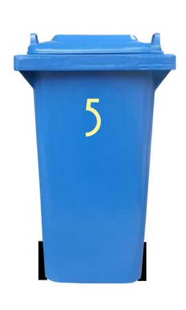 Bin Number Sticker 'Avenida' – Bild 16