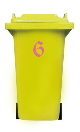 Bin Number Sticker, Old English – Bild 16