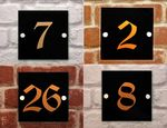 Premium House Number sign OLD ENGLISH