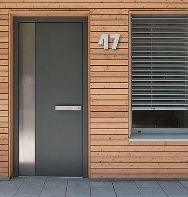 Acrylic House Number Bauhaus