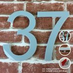 Acrylic House Number Arial 001