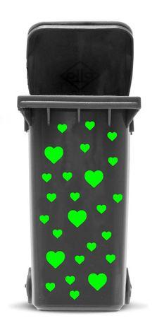 Bin Sticker 'Hearts' – Bild 9