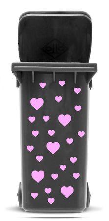 Bin Sticker 'Hearts' – Bild 7