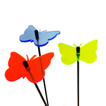 SunCatcher Set of 3 'Butterfly 1', 6cm – image 9