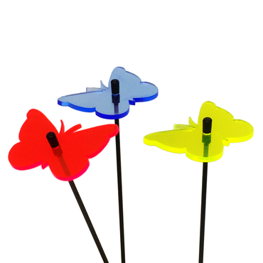 SunCatcher Set of 3 'Butterfly 1', 6cm – image 2
