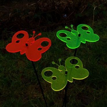 SunCatcher Set of 3 'Butterfly 2', 15cm – image 3