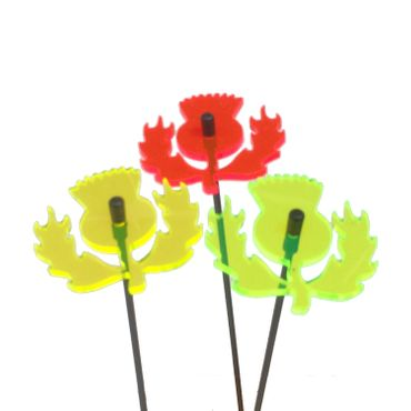 SunCatcher Set of 3 'Scottish Thistle', 6cm – image 2