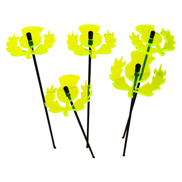 SunCatcher Set of 5 'Scottish Thistle', 6cm – image 4