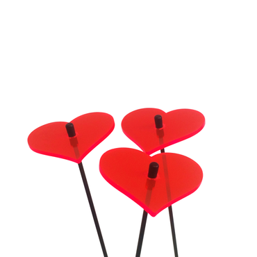SunCatcher Set of 3 'Heart', 6cm – image 6