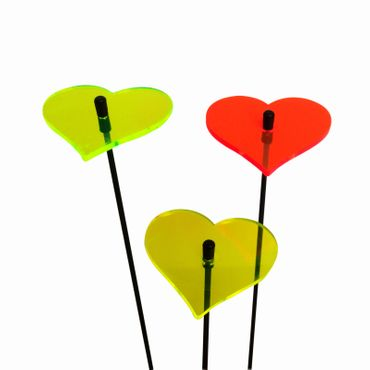 SunCatcher Set of 3 'Heart', 6cm – image 3