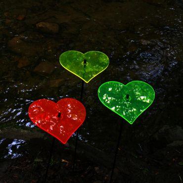 SunCatcher Set of 3 'Heart', 15cm – image 4